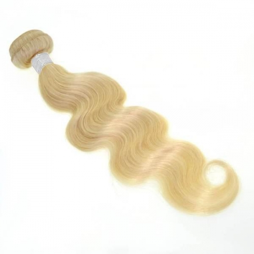 100% Virgin Hair #613 Blonde Body Wave Bundle-10A