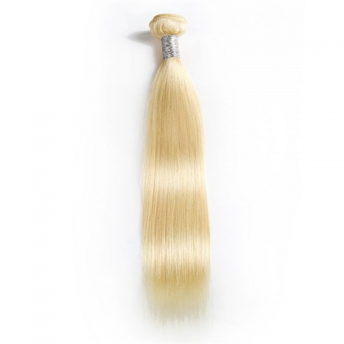 100% Virgin Hair #613 Blonde Straight Bundle-10A
